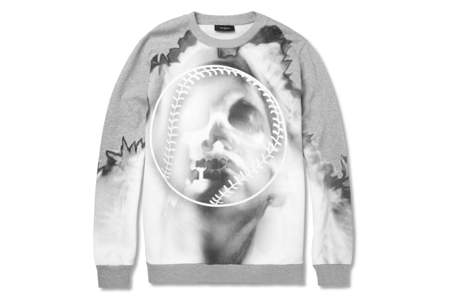 Image of Givenchy Oversized Printed Cotton-Jersey Sweatshirt