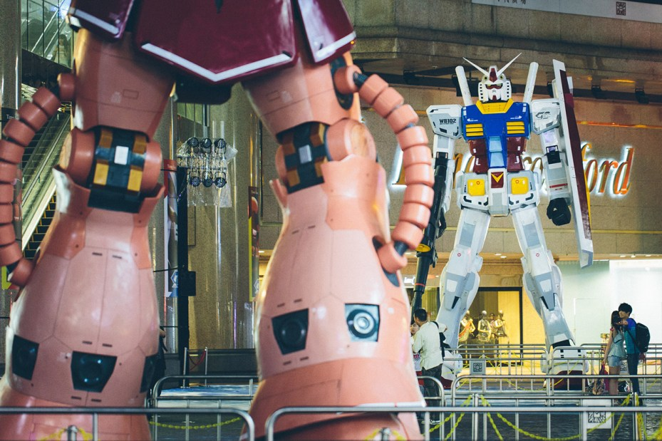 Image of Gundam Docks Hong Kong 2013