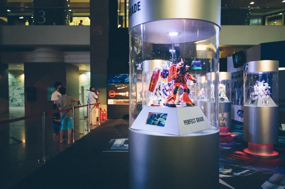 Image of Gundam Docks Hong Kong 2013
