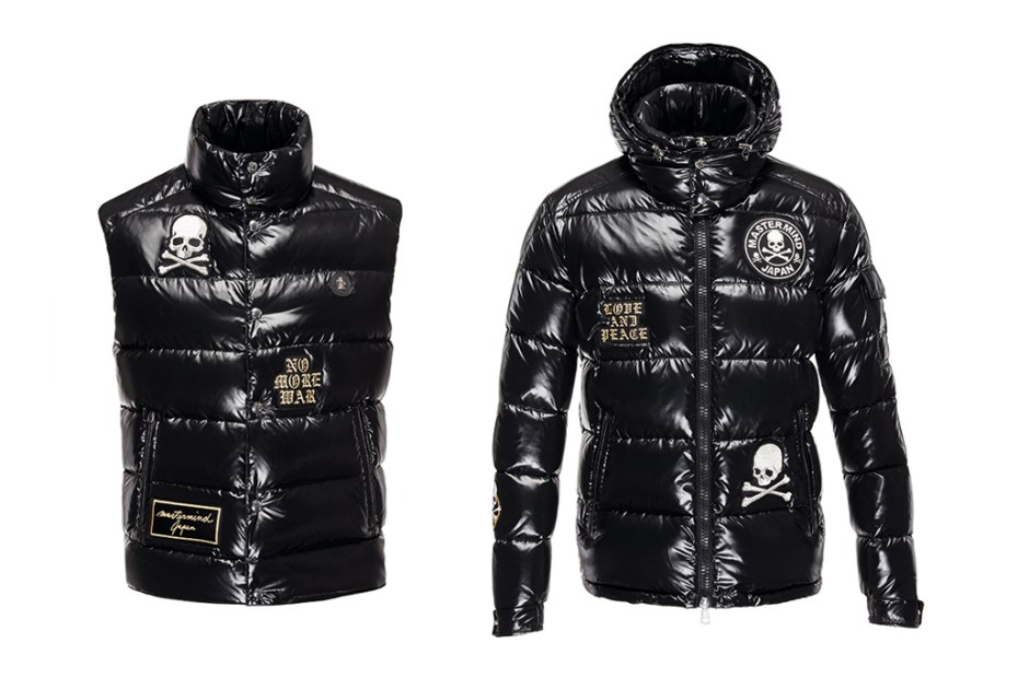 Image of Moncler x mastermind JAPAN 2013 Fall Down Vest and Jacket