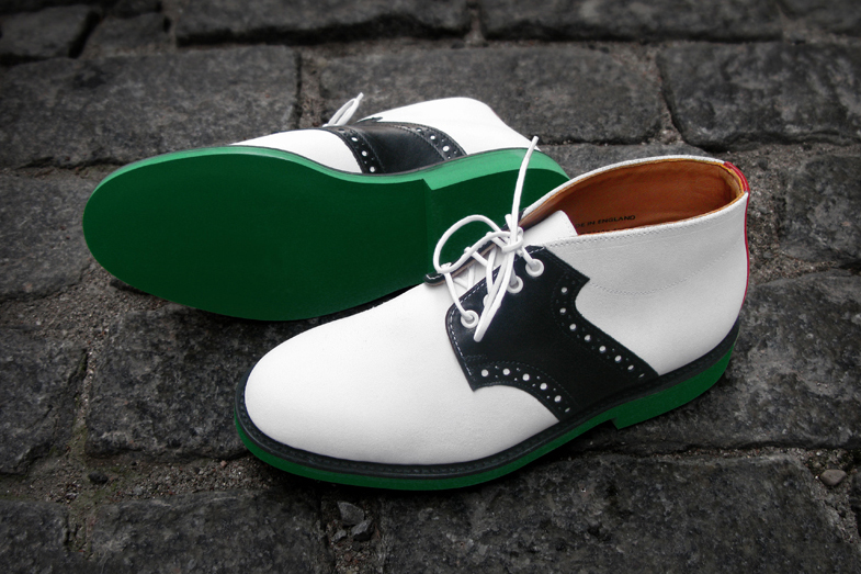 Image of #Heineken100 x Mark McNairy Saddle Boots