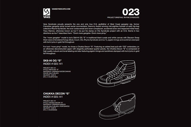 Image of Ice-T x Vans Syndicate Preview