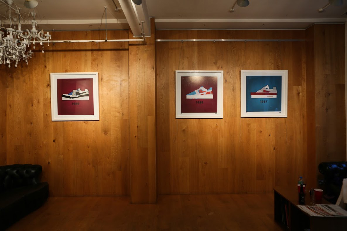 Image of Jack Stocker On His Minimalist Sneaker Study Exhibition