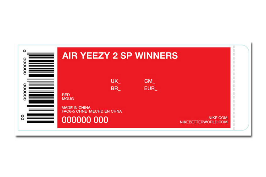 Image of Kanye West Announces First 24 Winners of the Upcoming Nike Air Yeezy 2