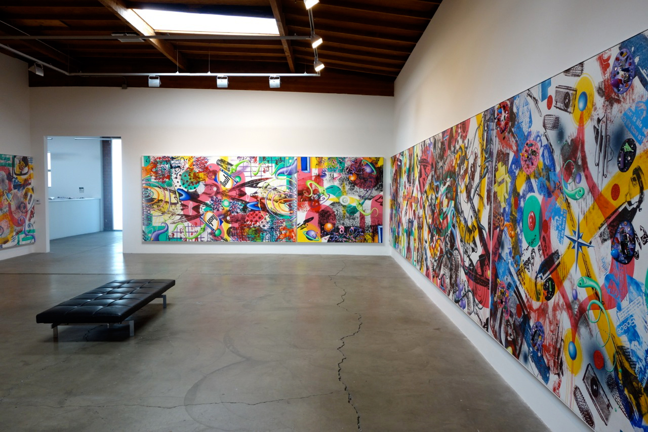 "Image of Kenny Scharf ""Pop Renaissance"" @ Honor Fraser Gallery"