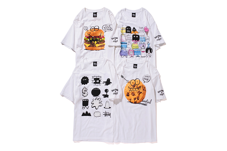 Image of Kevin Lyons x Stussy Guest Artist Series