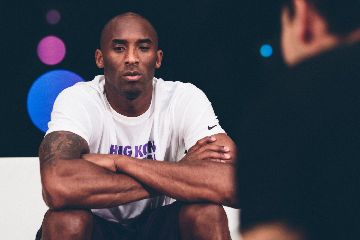 Image of Kobe Bryant on Growing Up in the League and the Future of His Signature Line