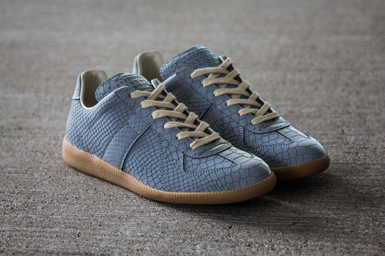 Image of Maison Martin Margiela 2013 Fall/Winter Grey/Reflective Replica Sneaker