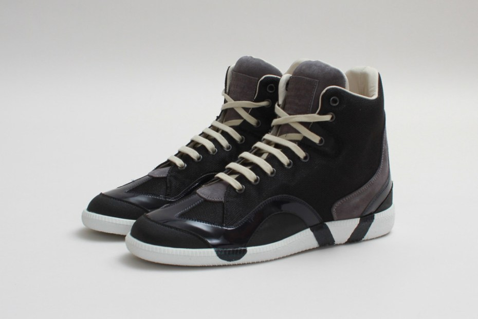 Image of Maison Martin Margiela 2013 Fall/Winter High-Top Sneaker Black/Grey