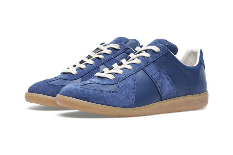 Image of Maison Martin Margiela 2013 Fall/Winter Classic Replica Sneaker Navy/Gum