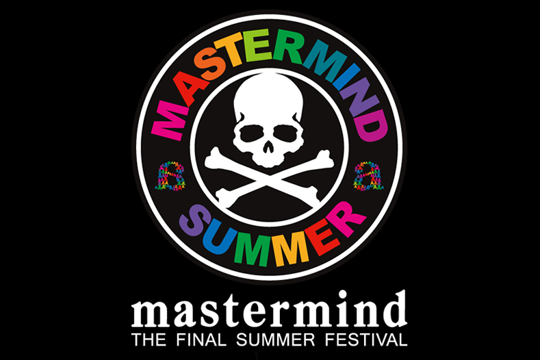 "Image of mastermind JAPAN x a-nation ""THE FINAL SUMMER FES 2013"" Musicweek"