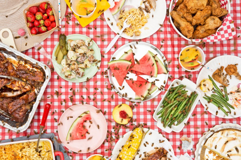 "Image of ""Meals Interrupted"" Photo Series by Davide Luciano and Claudia Ficca"
