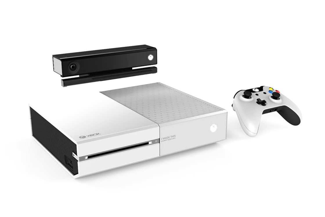 Image of Microsoft Employees Get a Limited Edition White Xbox One