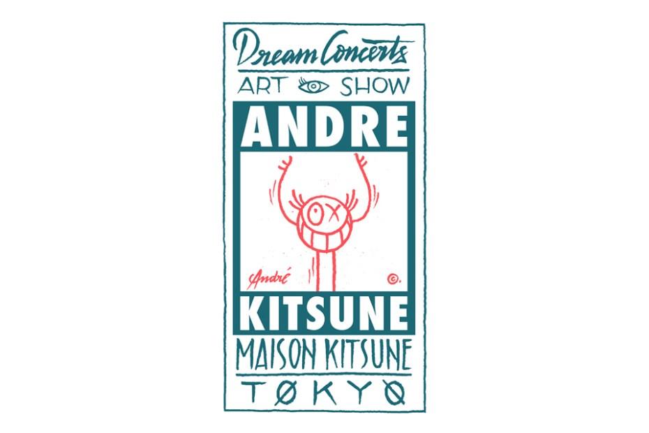 """Image of Monsieur A's """"Dream Concerts"""" Art Show at Maison Kitsuné Tokyo"""