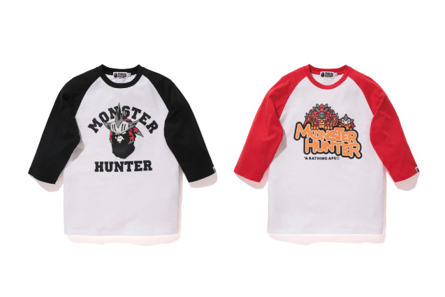 Image of Monster Hunter x A Bathing Ape 2013 Fall/Winter Collection
