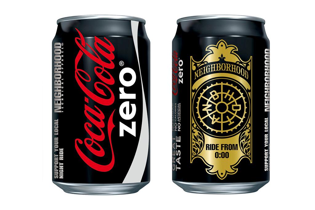 "Image of NEIGHBORHOOD x ""Coca-Cola Zero"" Preview"
