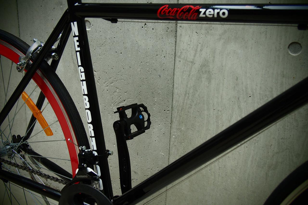 Image of NEIGHBORHOOD x Coca-Cola Zero Road Bike Preview