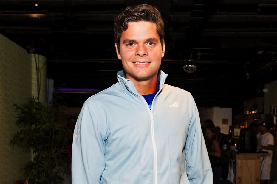 Image of New Balance Tennis with Milos Raonic