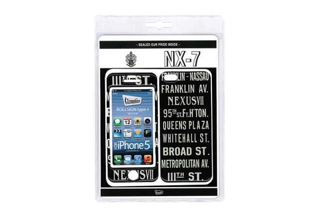 Image of NEXUSVII x Gizmobies iPhone 5 Protector