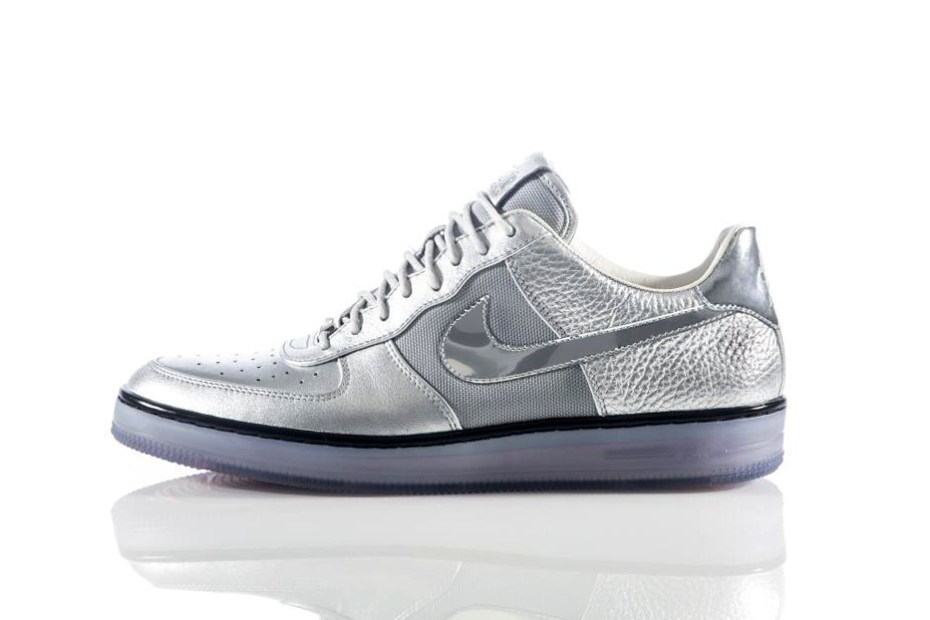 "Image of Nike Air Force 1 Downtown ""Metallic Silver"""