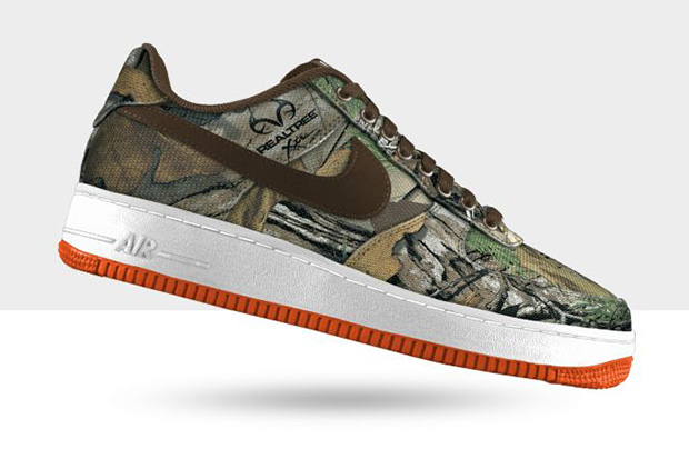 "Image of Nike Air Force 1 Low Premium iD ""Tree Camo"" Option"