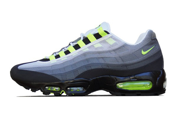 "Image of Nike Air Max 95 PRM Tape QS ""Neon"""