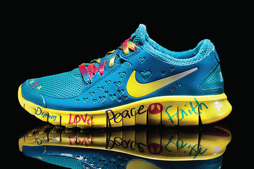 "Image of Nike Free Run 2 Doernbecher ""Shelby Lee"""