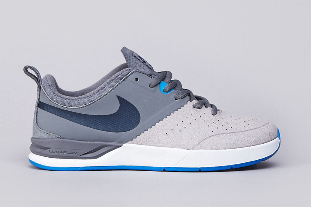 Image of Nike SB Project BA Cool Grey/Armory Navy-Matte Silver-Photo Blue