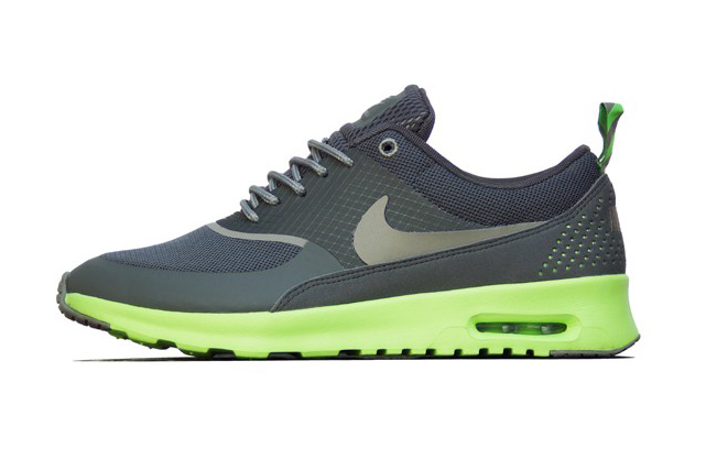Image of Nike Women's Air Max Thea Mercury Grey/Mine Grey/Flash Lime