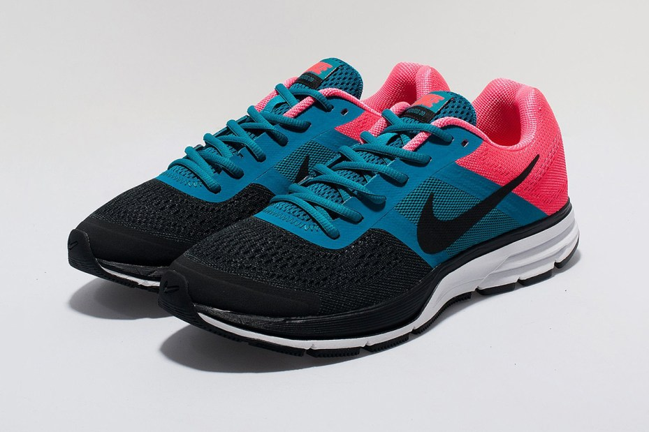 Image of Nike Women's  Air Pegasus+ 30 Black/Teal/Pink