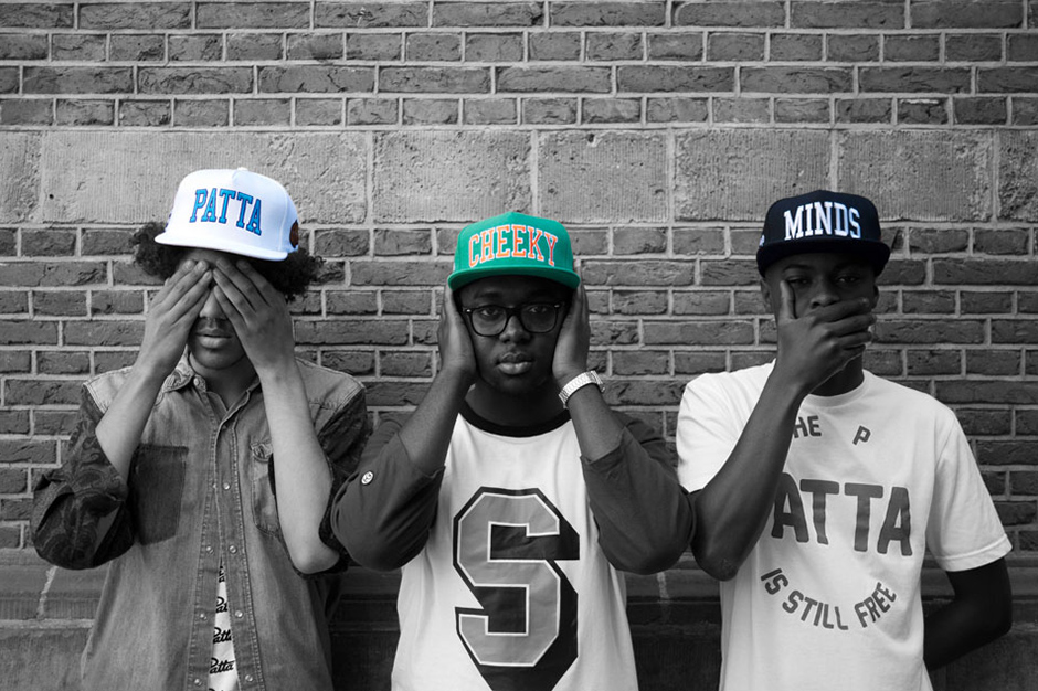 Image of Patta Cheeky Minds Cap Collection