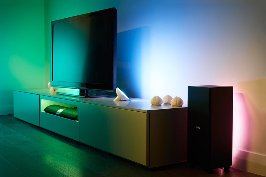 philips hue introduces lightstrips livingcolors bloom hypebeast. Black Bedroom Furniture Sets. Home Design Ideas