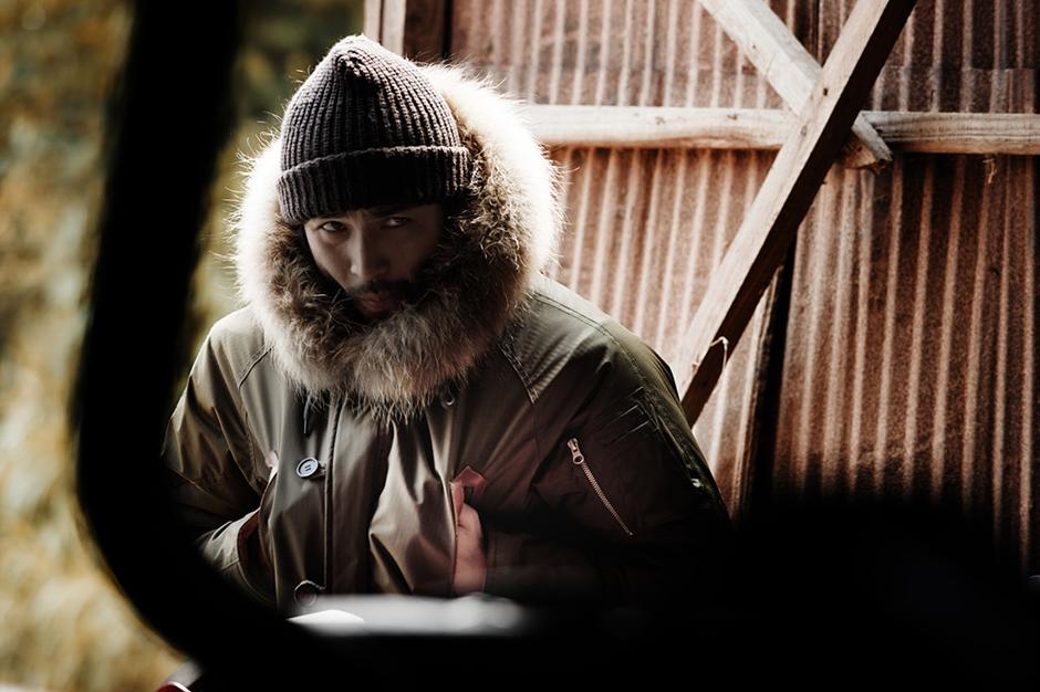 "Image of COVERNAT 2013 Fall/Winter ""Ferry Boatman"" Lookbook"
