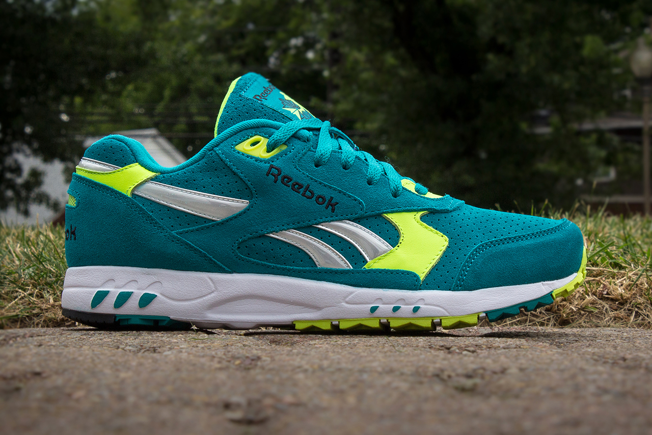 Image of Reebok 2013 Fall Inferno Teal/Neon Yellow