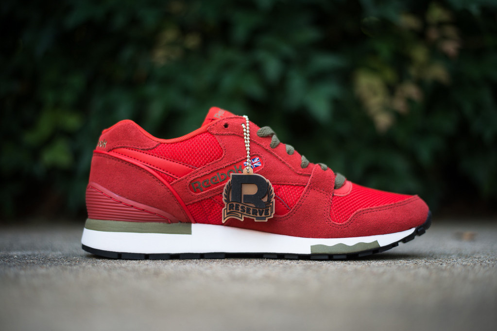 Image of Reebok GL6000 Red/Olive