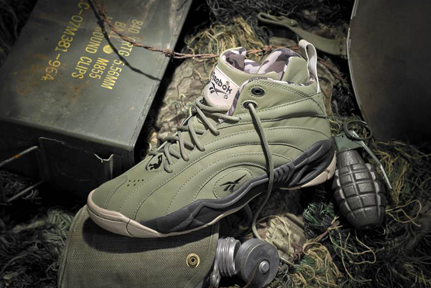 "Image of Reebok Shaqnosis OG ""Barracks"""