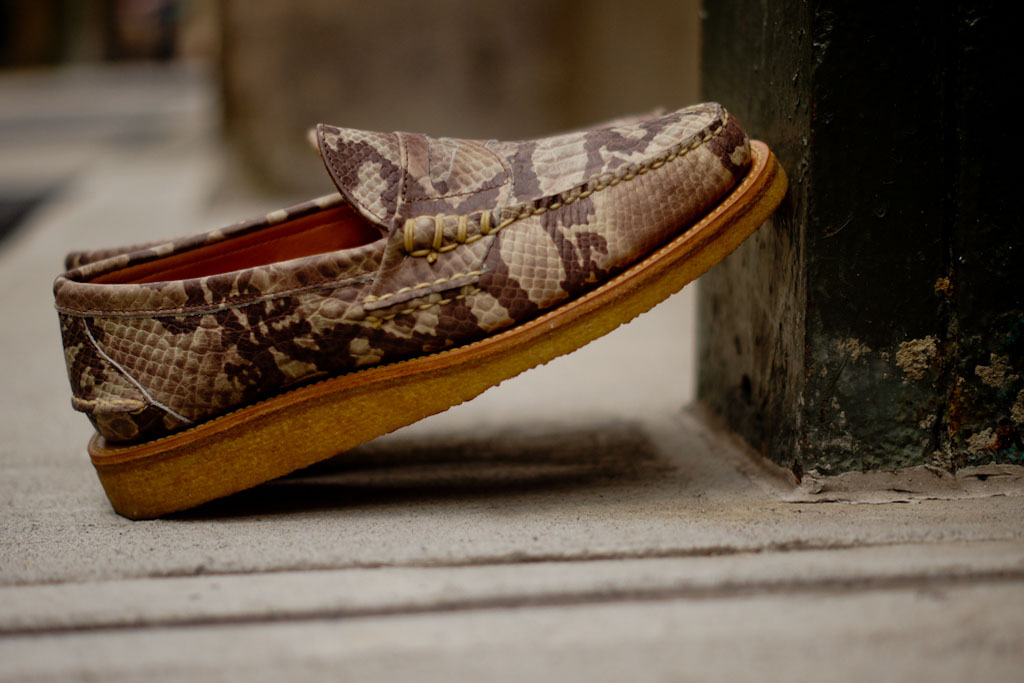 Image of Ronnie Fieg x Yuketen 2013 Fall Snake Penny Loafer