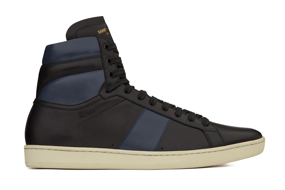 Image of Saint Laurent Classic SL/02H High-Top Sneaker