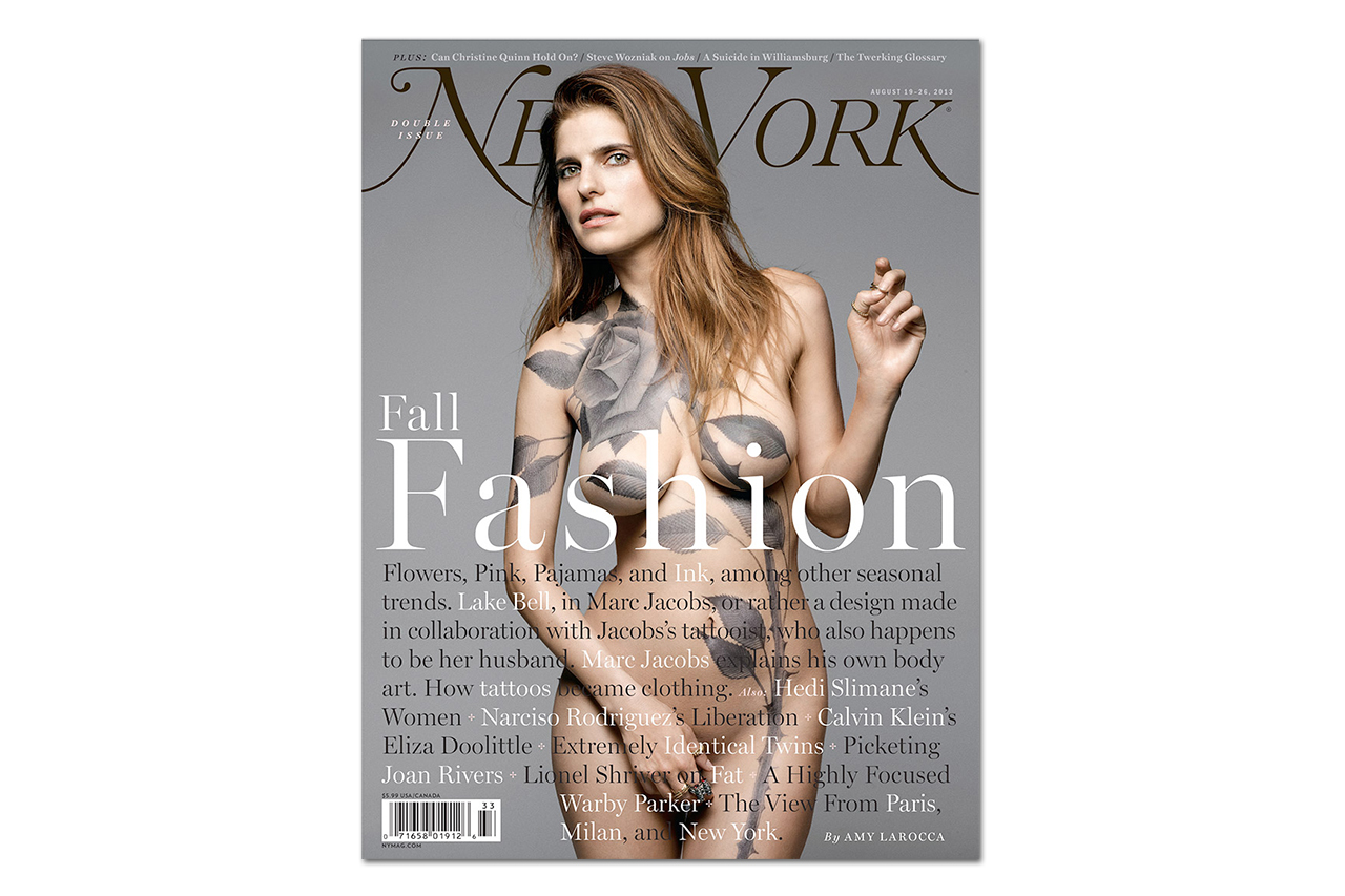 Image of Lake Bell and Scott Campbell Bare All for New York Magazine