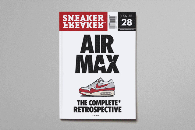 Image of Sneaker Freaker Issue 28 Airmaxtravaganza