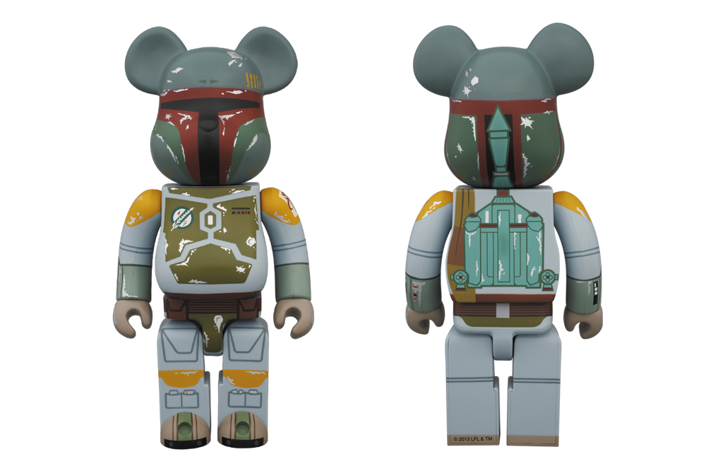Image of Star Wars x Medicom Toy 400% Boba Fett Bearbrick