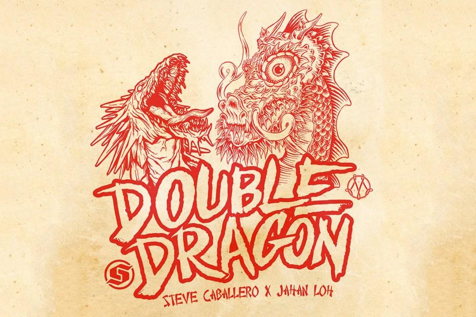 "Image of Steve Caballero x Jahan Loh ""DOUBLE DRAGON"" Exhibition"