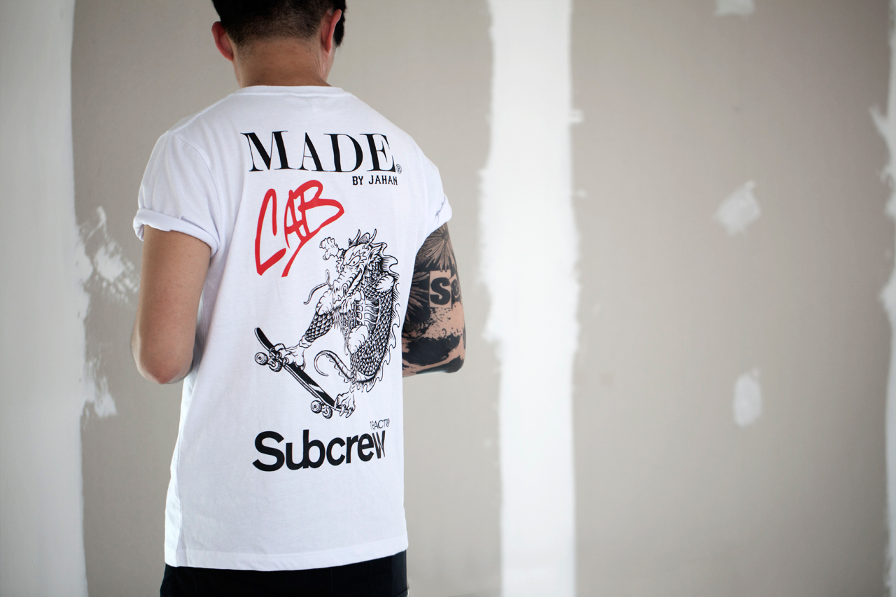"Image of Steve Caballero x Jahan Loh x Subcrew ""DOUBLE DRAGON"" T-Shirts"