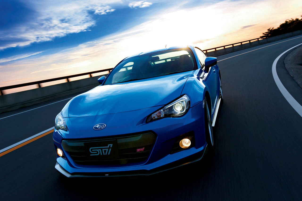 Image of Subaru Unveils the BRZ tS
