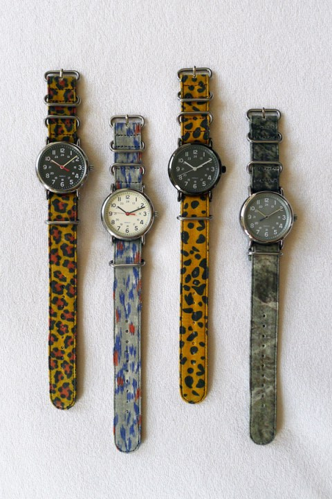 Image of Suigeneric Waxed Cotton Watchstraps
