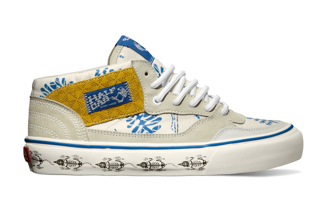 "Image of Taka Hayashi x Vans Vault 2013 Fall TH Half Cab LX ""Batik"" Pack"