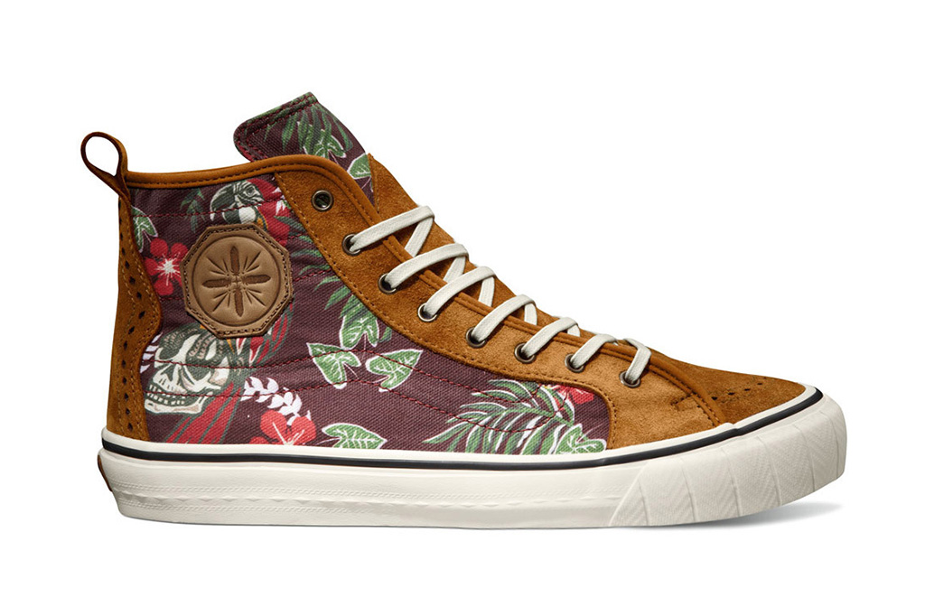 "Image of Taka Hayashi x Vans Vault 2013 Fall TH Court Hi LX ""Paradise"" Pack"