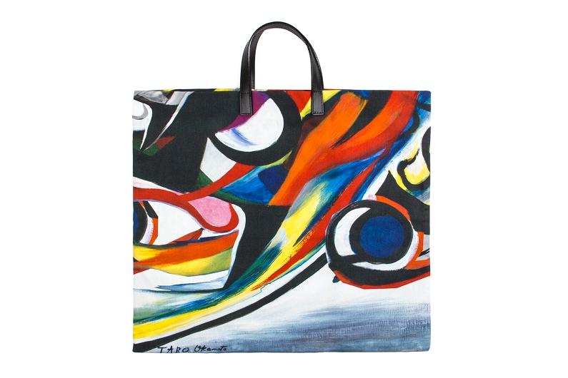 Image of Taro Okamoto x COMME des GARCONS Special Tote Bag