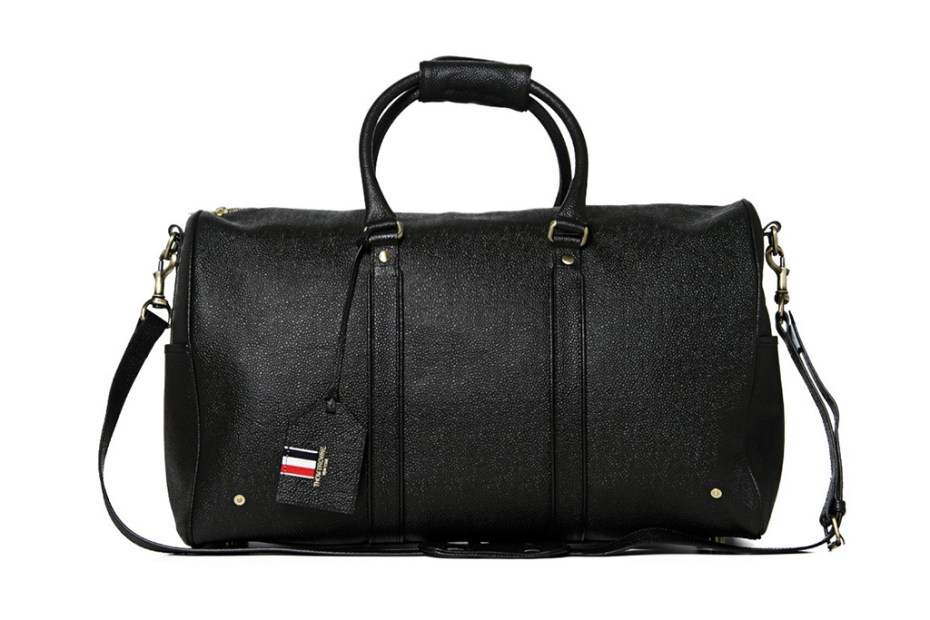 Image of Thom Browne Weekender Bag