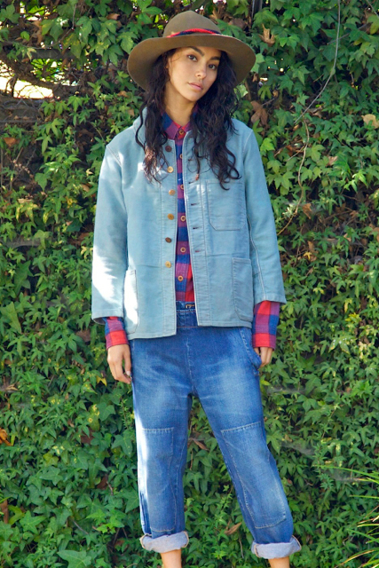 Image of visvim 2013 Fall/Winter Editorial by Union featuring Adrianne Ho